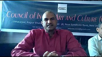 SHRI C. P. JOSHI Honourable Member of Parliament Govt. of India