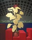 (2012,R-5)_Rajesh-Chand_Gold-Plant_48x60