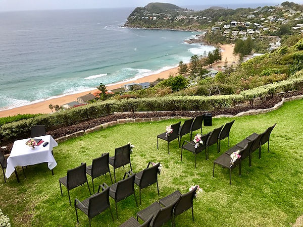 Jonah's Whale Beach | Bronte | Sydney Marriage Celebrant Gary Mooney