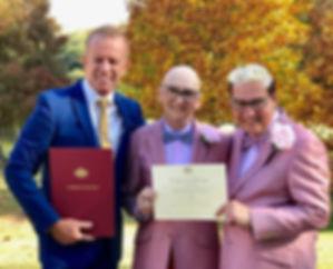 SAME SEX WEDDINGS | Bronte | Sydney Marriage Celebrant Gary Mooney
