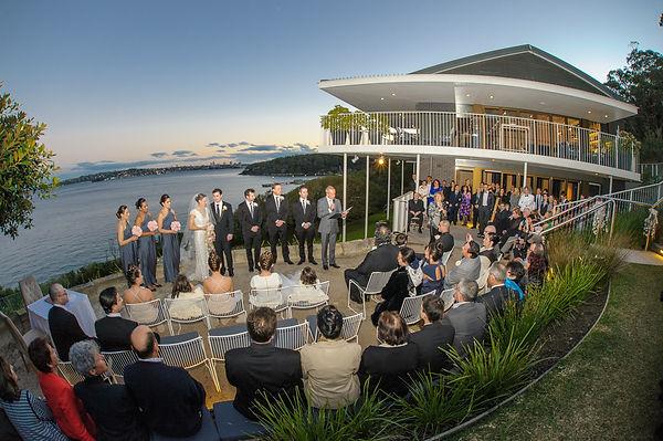 Sergeants Mess | Bronte | Sydney Marriage Celebrant Gary Mooney