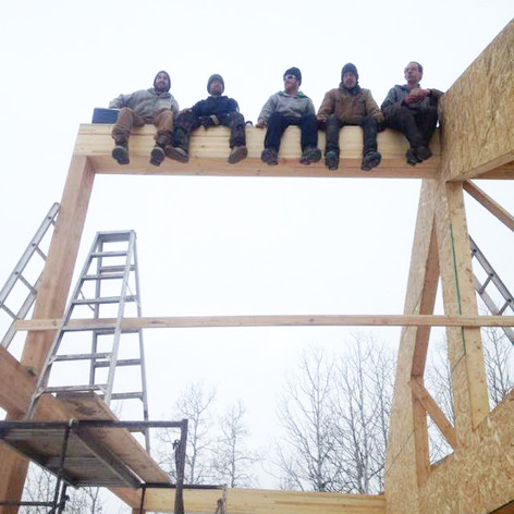 Hawkeye Framing team