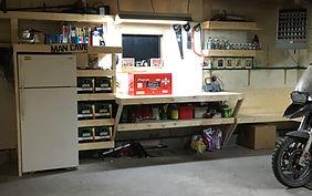 Calgary garage storage ideas