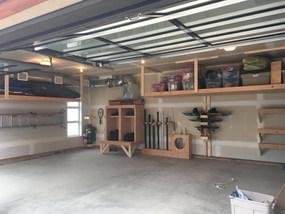 Calgary Garage Shelves