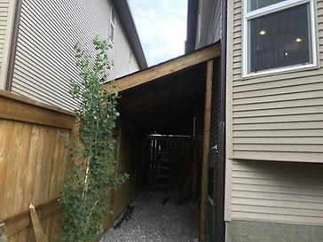 Calgary yard storage
