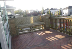 Deck and Patio layouts