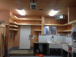 Workspace shelving