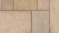 Indian Sandstone Paving - Brown