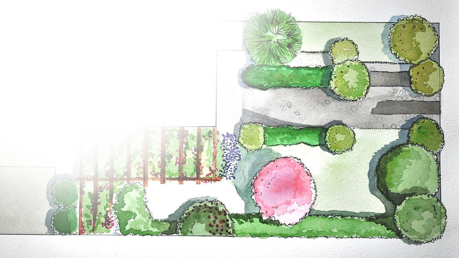 Beeches Transform - Landscape Design Leeds Sketches