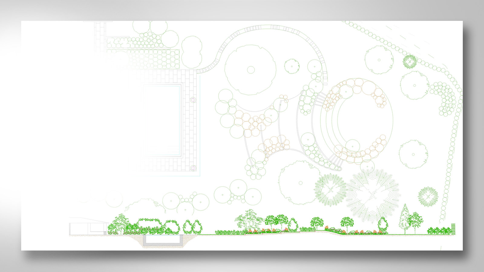 Beeches Transform - Landscape CAD drawings Leeds
