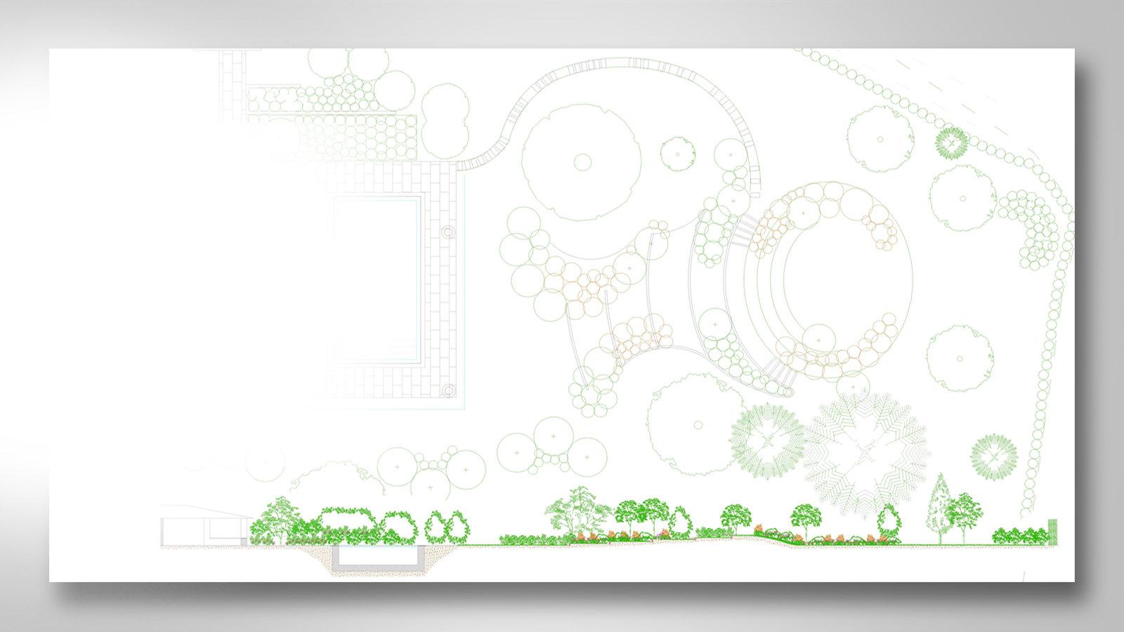 Beeches Transform - Landscape CAD drawings Leeds