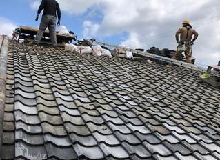 屋根瓦の大規模修繕