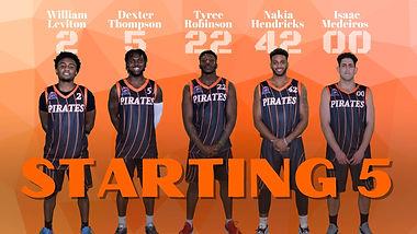 Starting Five - 2.27.21 - at NH Rockets.