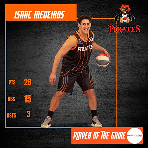 Player of the Game - Isaac Medeiros - vs