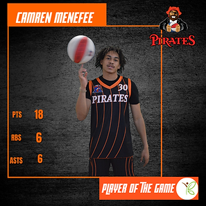 Player of the Game - Camren Menefee 4.11