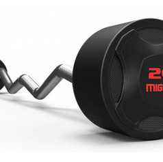 Mighty rubbered curved barbell RED.jpg