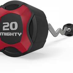 Mighty urethane curl barbell red.jpg