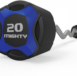 Mighty urethane curl barbell blue.jpg