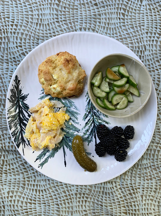 Keto Dinner, Meal #11: Oh, These Low Carb Keto Biscuits