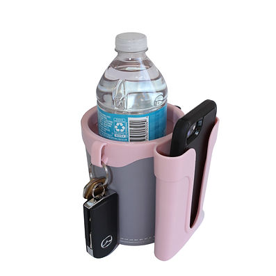 The_Gray_and_Pink_Cell_Phone_Cup_Holder.