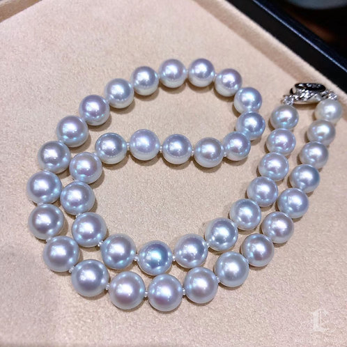 45cm, Madama|真多麻 9.5-10 mm Akoya Pearl Classic Necklace w/ Japanese Certificate