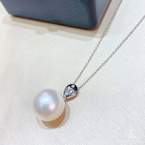 AAAA 14-15 mm South Sea Pearl Pendant 18k Gold