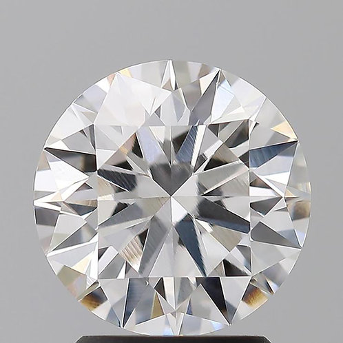 2.01ct CVD Dimond, EX Cut,  F Color, VS1 Clarity w/ IGI Certificate
