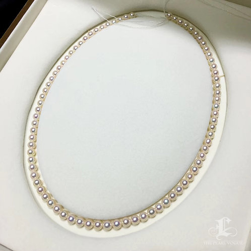 45cm, 5-5.5 mm Queen|皇后 Akoya Pearl Classic Necklace w/ Japanese Certificate
