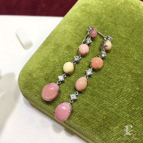 Collection!10.00ct Conch Pearl Necklace | Collect multicolor Conch