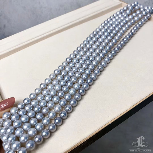 45cm, AAA 8.5-9mm Akoya Pearl Classic Necklace