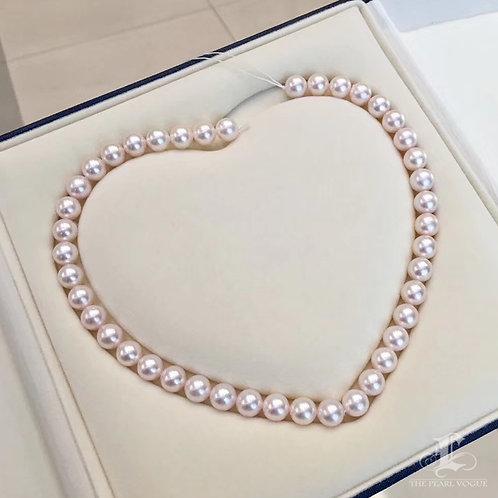 45cm, AAAA 9.5-10 mm Akoya Pearl Classic Necklace