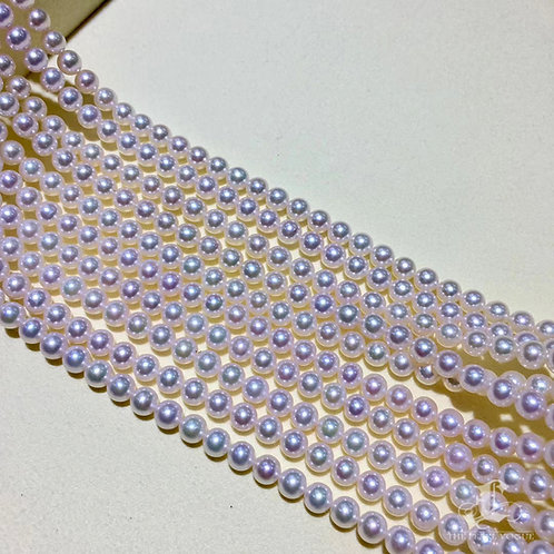 45cm, Rin Color|彩凜珠 5.5-6 mm Akoya Pearl Necklace w/ Japanese Certificate