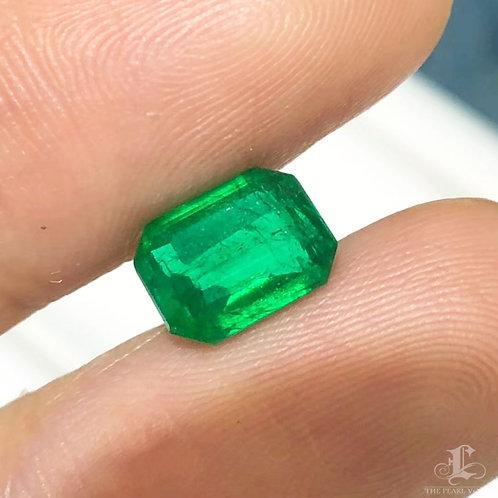 SINGLE | 1.56ct Vivid Green Natural Loose Emerald