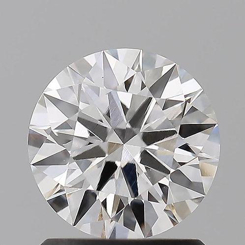 1.11ct CVD Dimond, IDEAL Cut,  G Color, VVS2 Clarity w/ IGI Certificate