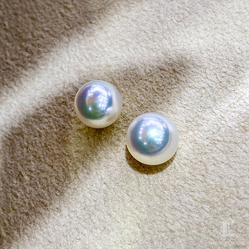 PAIR|Aurora Hanadama|天女 8-8.5 mm Loose Pearl w/ Japan Certificate