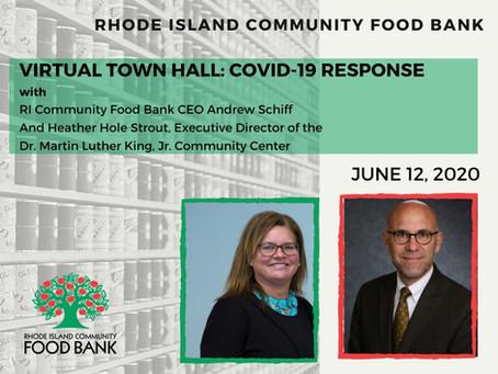 Virtual Town Hall Tomorrow, and More MLK News