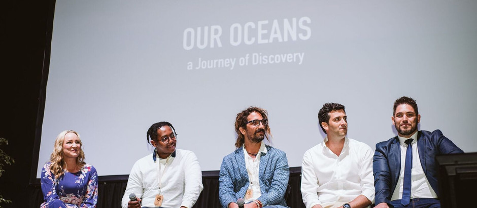 Our Oceans film screening at NEWF