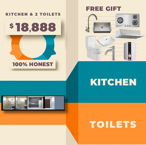 Kitchen + Toilet Package