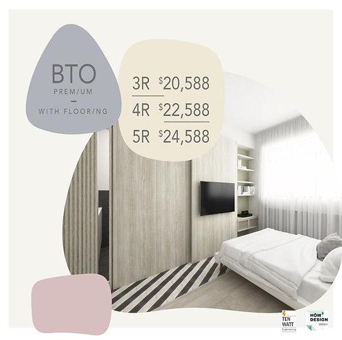 BTO Premium + Flooring