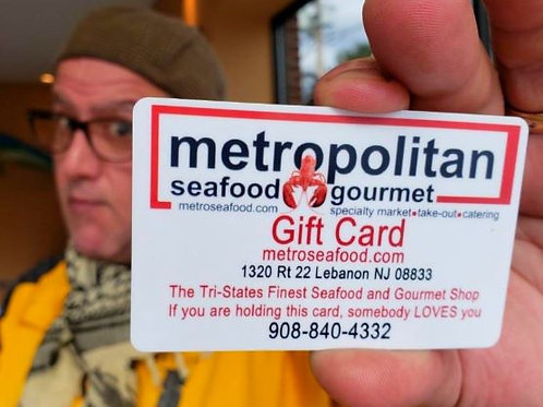 Metropolitan Seafood & Gourmet Gift Card