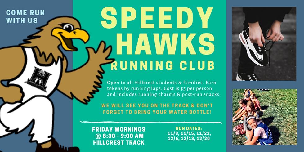 Speedy Hawks Running Club - $5 Registration