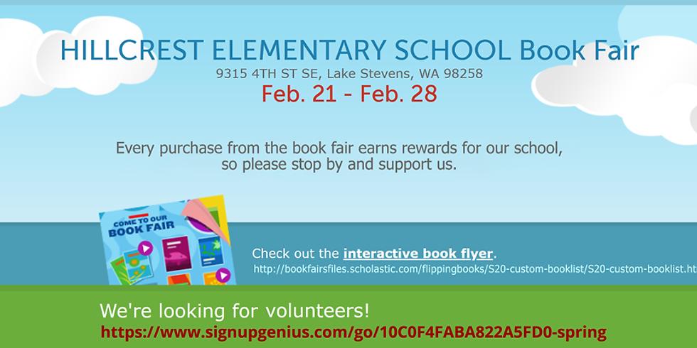 Spring 2020 Book Fair Help