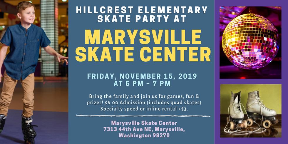 Hillcrest Elementary Skate Party