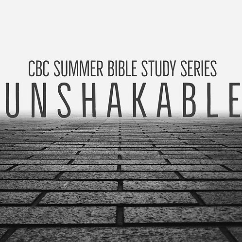 Unshakable Bible Study Leaders Guide