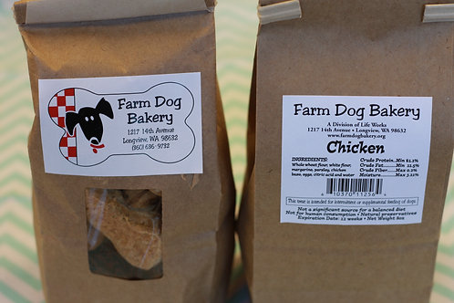 Chicken Flavored Dog Treats - Large