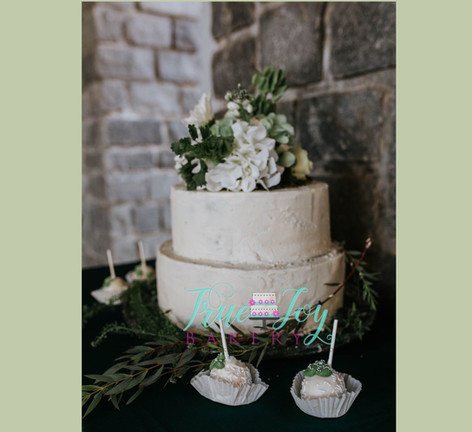 MODEST BUTTERCREAM WITH GREENERY