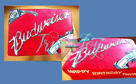 BUDWEISER CAKE