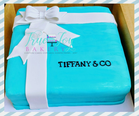 TIFFANY INSPIRED GIFT BOX