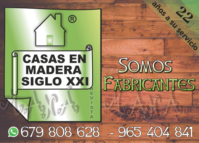 Casas en Madera Siglo XXI