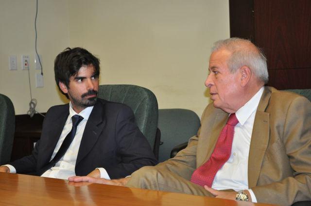 leandro viotto y alcalde de miami